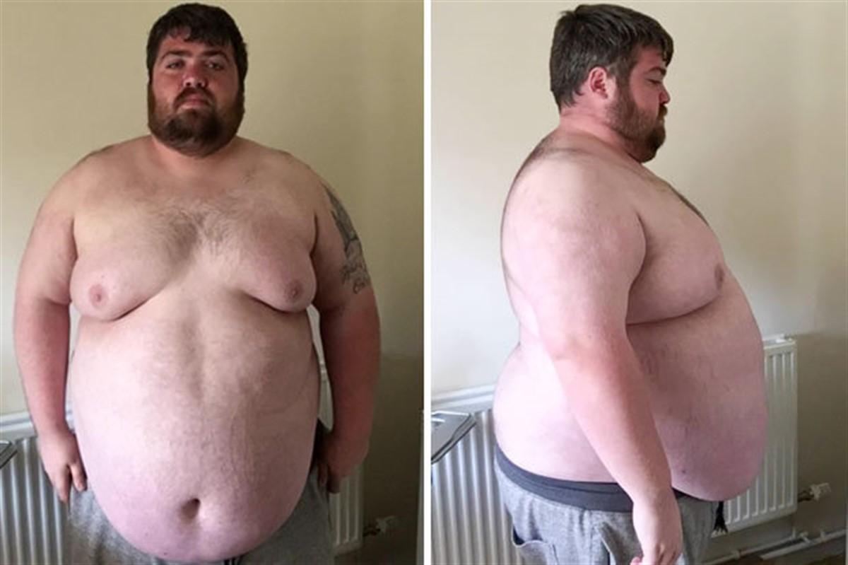 Un tanar din Marea Britanie a reusit sa slabeasca 100 de kilograme in doar 9 luni.