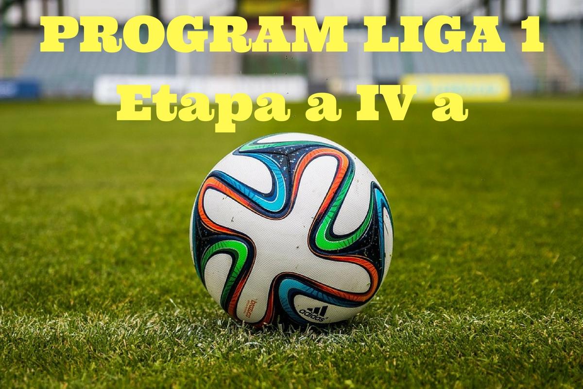 Program Liga 1, etapa 4. Ce meciuri se disputa in aceasta etapa a Ligii 1 si cine transmite in direct la TV partidele din prima liga.