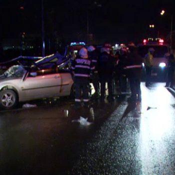 Bucuresti: Accident pe Soseaua Oltenitei, in zona Piata Sudului