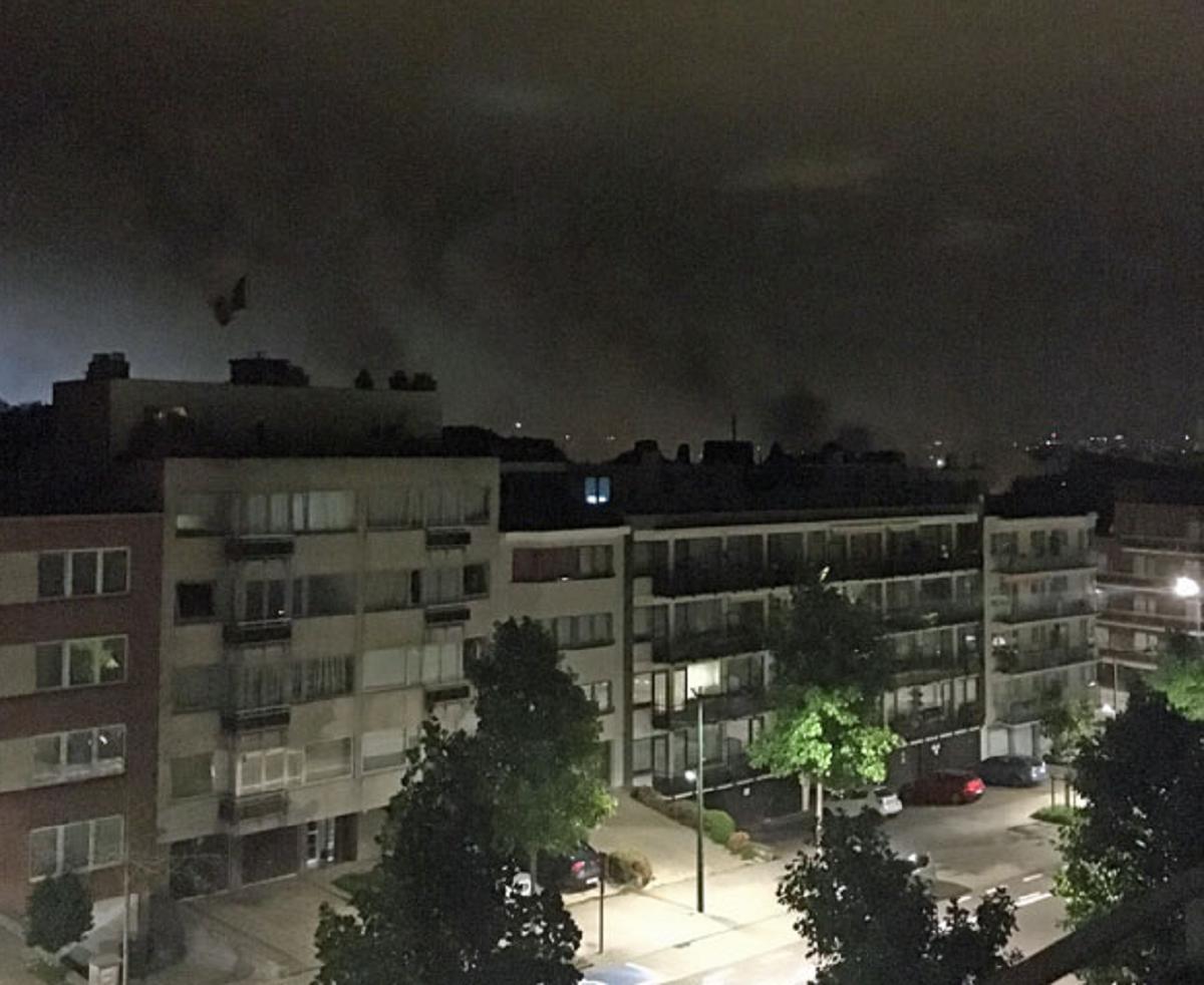 O bomba a explodat la Bruxelle si din fericire nu exista victime