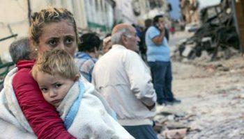 Imaginile dezastrului. Cum arata orasul din Italia dupa cutremur