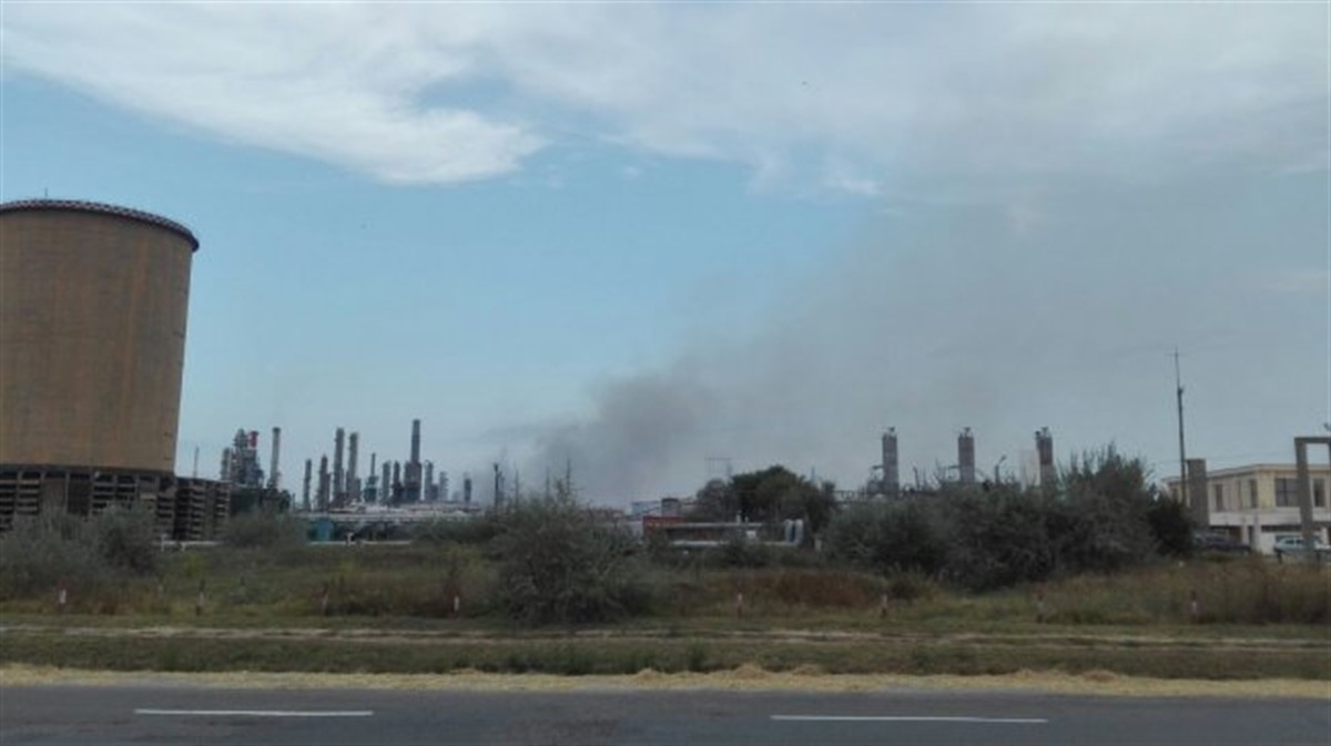 O explozie s-a produs la rafinaria Petromidia Navodari. Planul rosu de interventie a fost activat, iar mai multe echipaje ISU au intervenit.