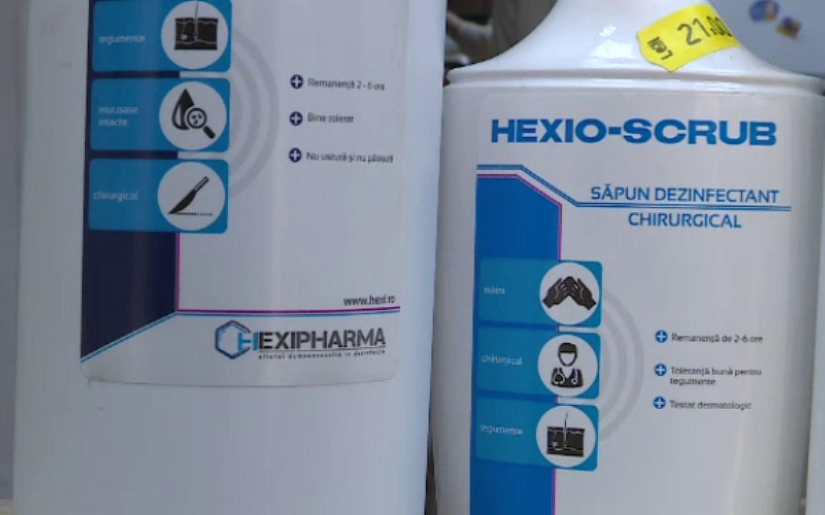 Testele efectuate de Institutul Cantacuzino au aratat ca dezinfectantii produsi de compania Hexi Pharma au concentratia in limitele legale.