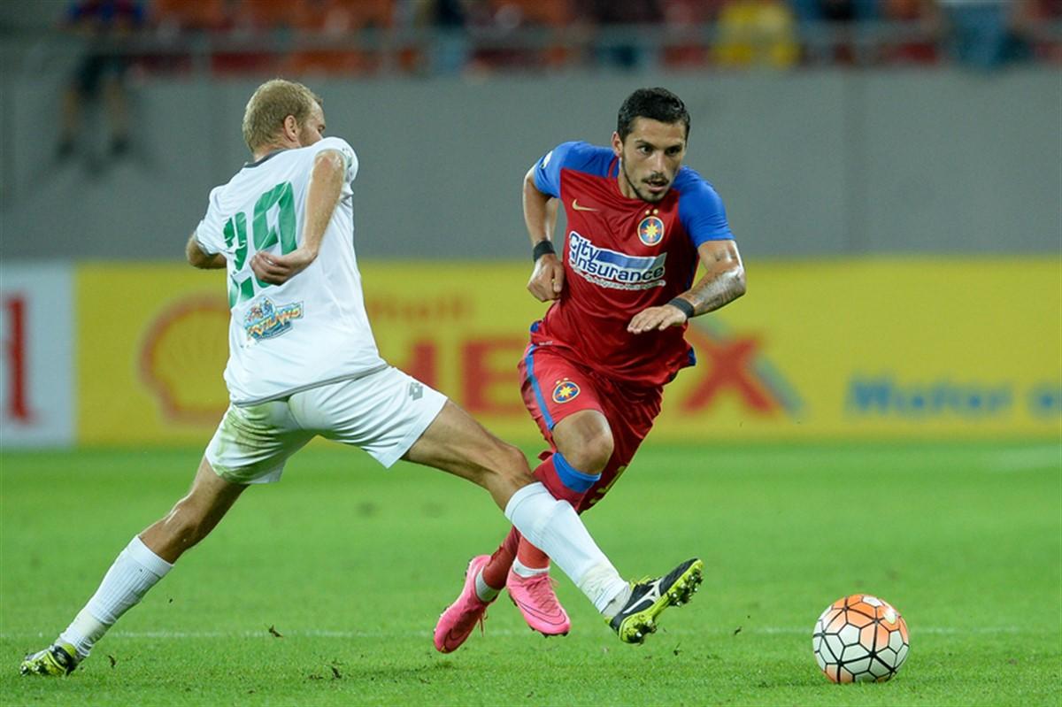 Steaua si Concordia Chiajna joaca de la ora 21.30 in etapa a treia a Ligii 1. Afla cine televizeaza meciul si unde il poti urmari live online.