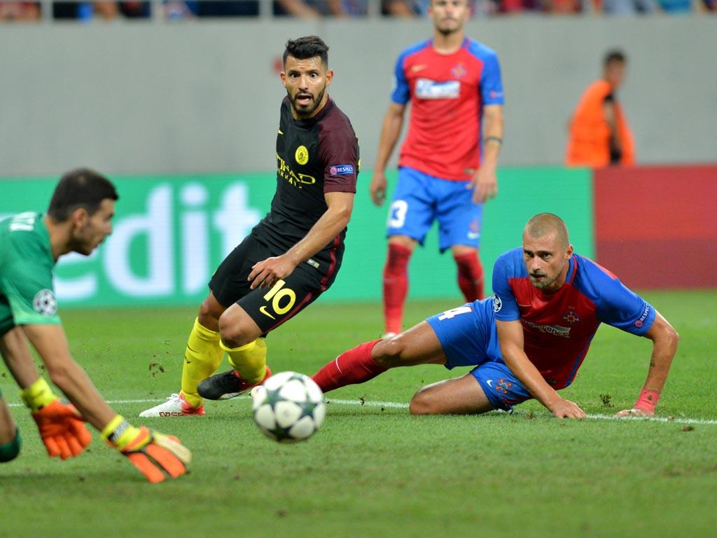 Steaua - Manchester City SCOR 0-5
