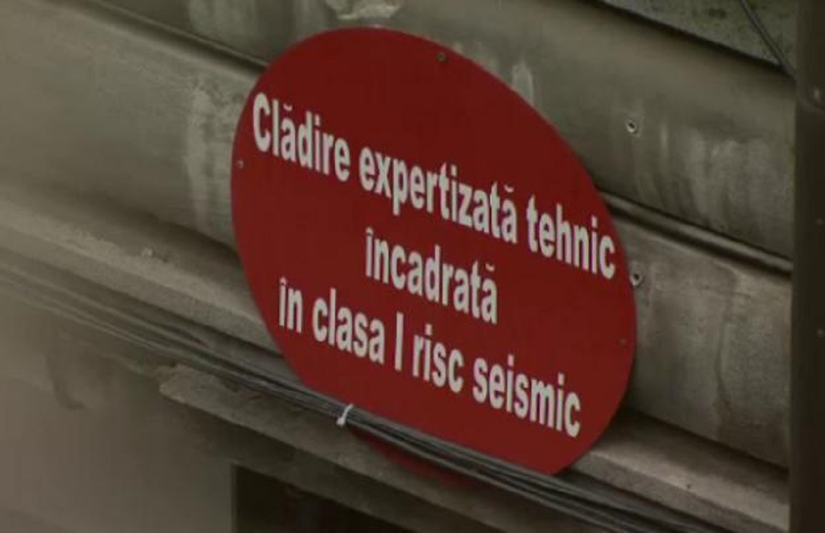 În ţară sunt 607 clădiri încadrate în clasa I de risc seismic; mai mult de jumătate sunt în Bucureşti