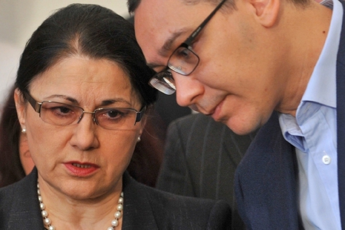 Ecaterina Andronescu susţine că Ponta a plagiat