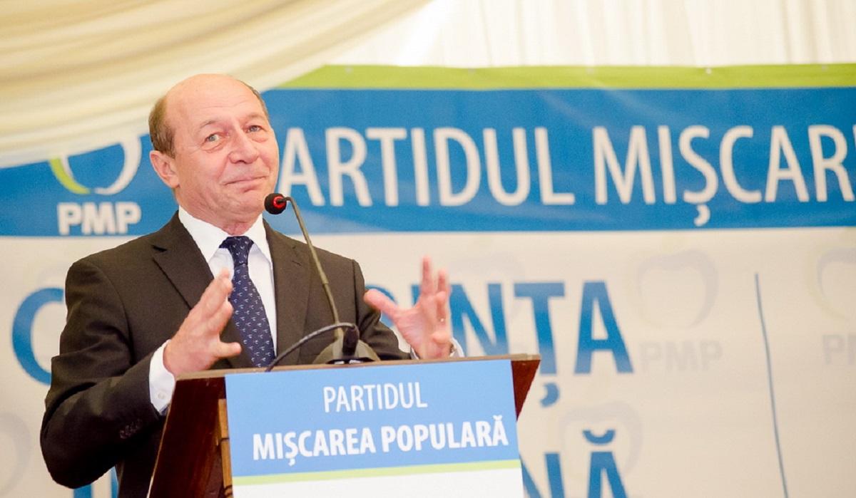 Partidul lui Traian Băsescu, lovit de un scandal cu acuzaţii de fraudă de 11 milioane de lei