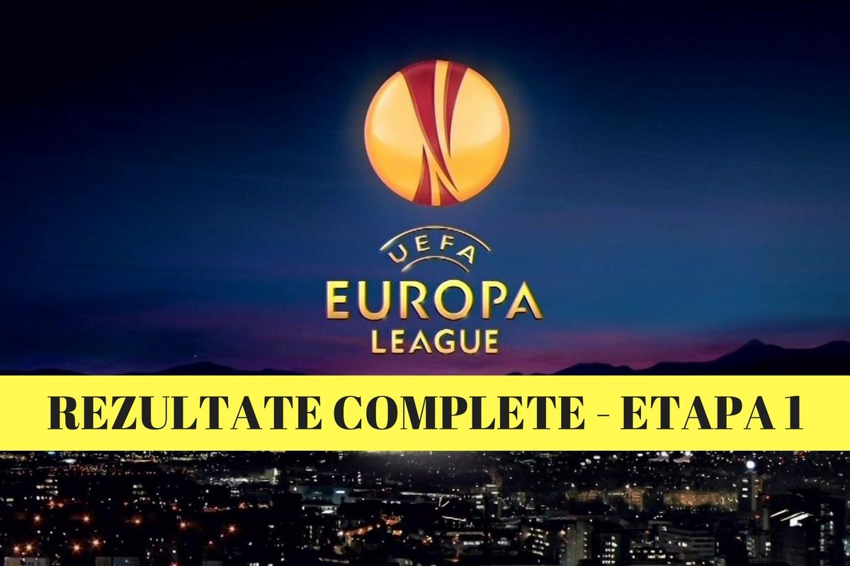 Rezultate Europa League și marcatorii din prima etapă a grupelor. Ce scoruri surpriză s-au înregistrat în meciurile de aseară.