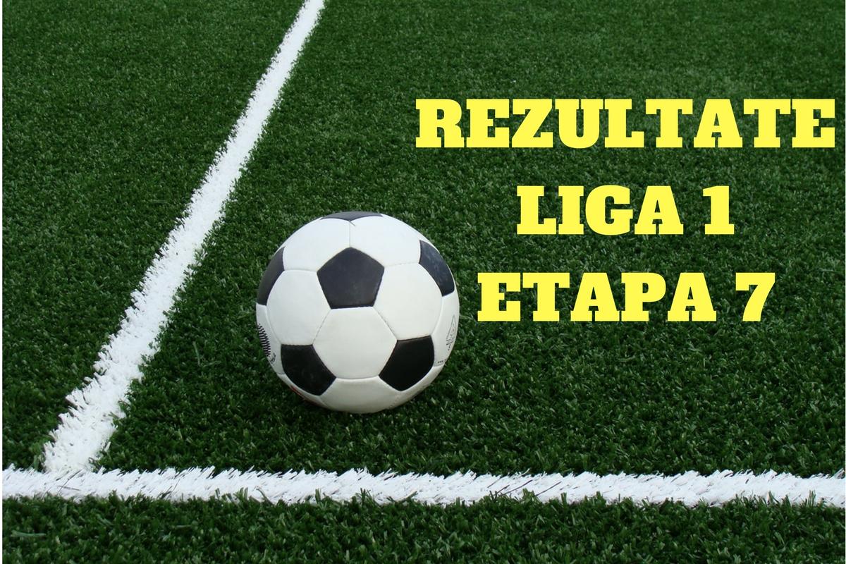 Rezultate Liga 1 etapa 7. Steaua si-a consiolidat pozitia de lider in clasamentul Ligii 1, dupa victoria cu Astra Giurgiu.