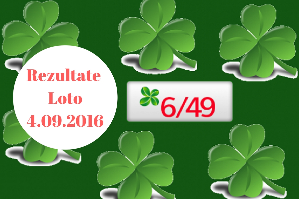 Rezultate Loto 6: Update: Rezultate Loto 6/49 4 Septembrie. Numere Extrase