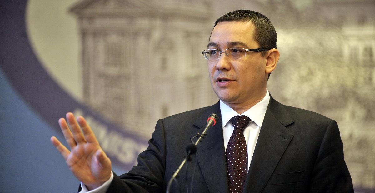 Victor Ponta este varianta de premier propusă de PRU