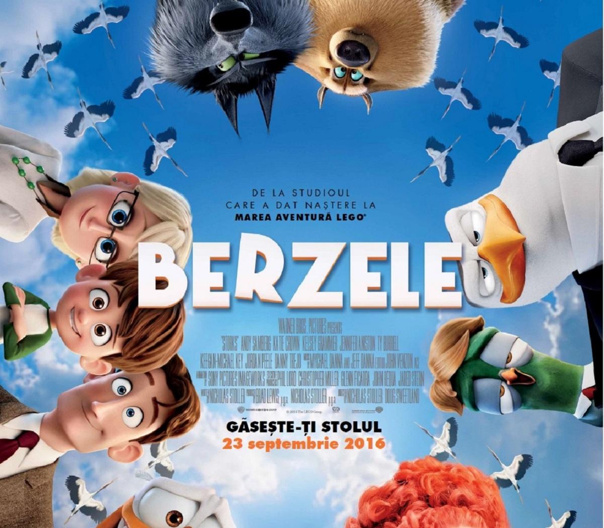 """,,Berzele"""" au aterizat pe primul loc în box office-ul românesc"""