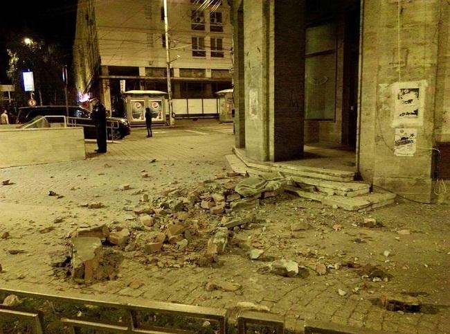 Primele imagini de la cutremur. A fost prăpăd în Iaşi