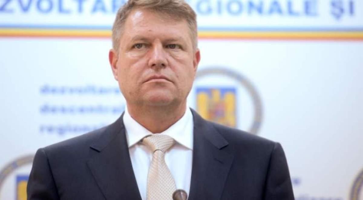 Klaus Iohannis are un nou purtator de cuvant