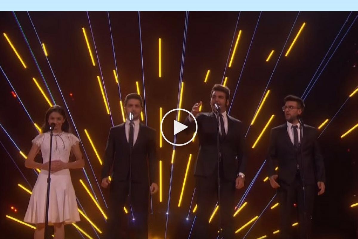 """Laura Bretan a avut prima reacție după ce a pierdut finala """"America's Got Talent"""". Tânăra a cântat și o melodie alături de grupul italian Il Volo."""