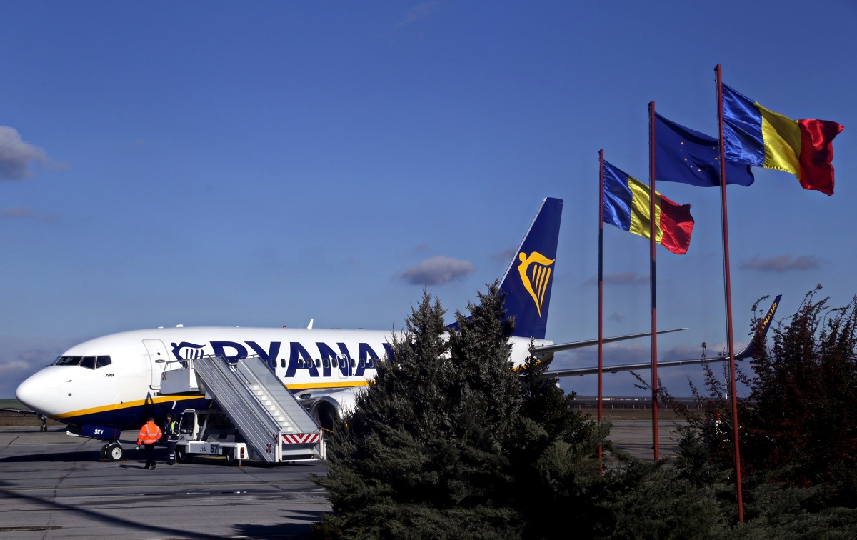 Promotie Ryanair: Bilete de avion ieftine in Romania si Europa
