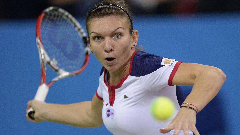 Simona Halep a invins-o pe jucatoarea de tenis Timeea Babos (Ungaria) si a ajuns in optimile turneului de Grand Slam US Open.