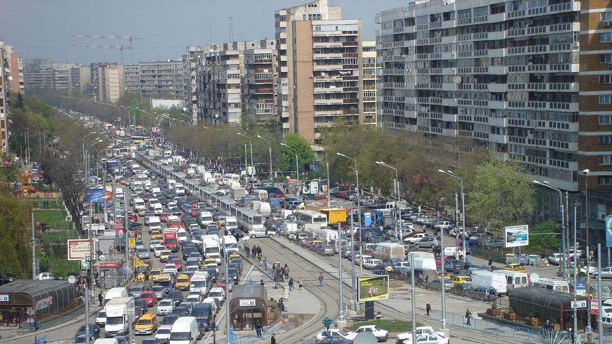 Trafic restrictionat in Bucuresti