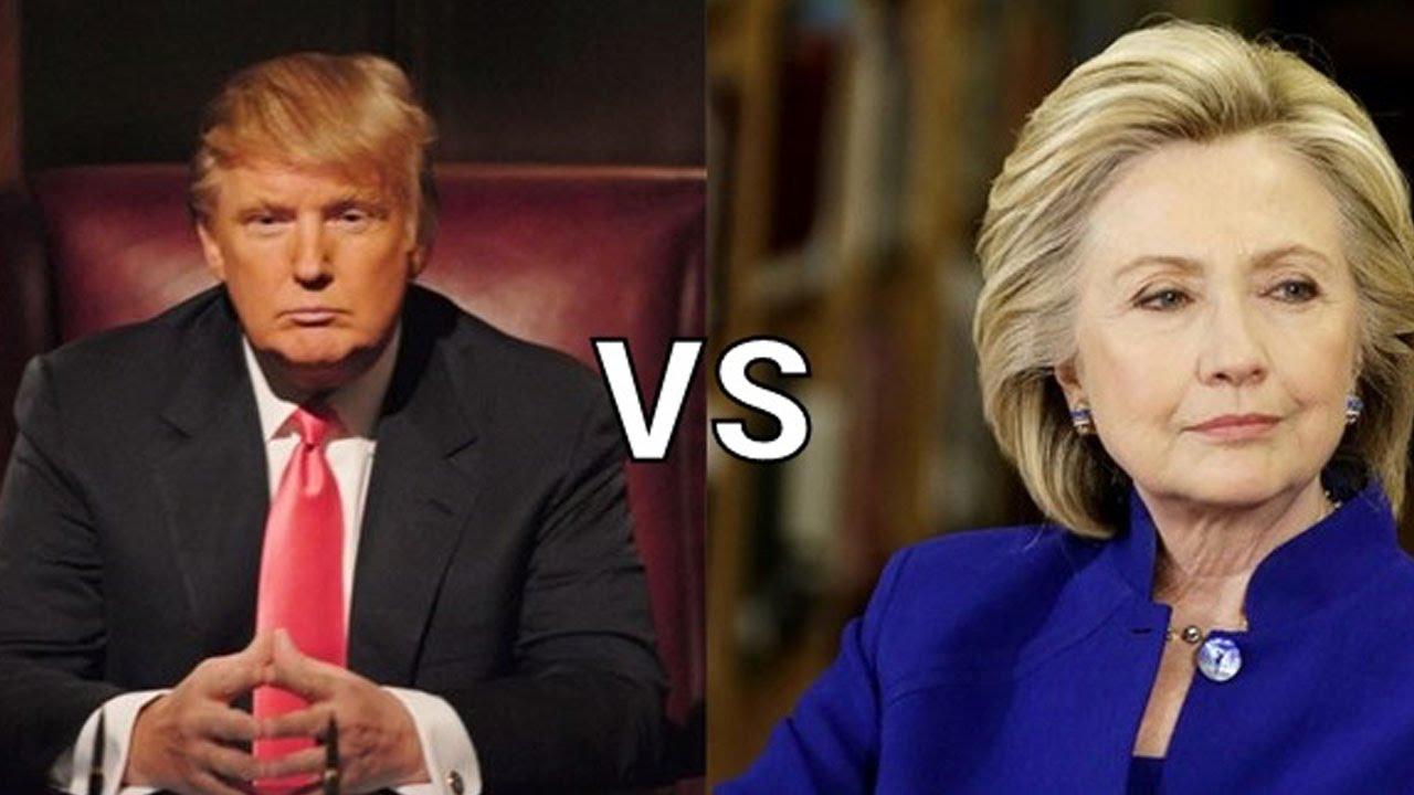 Donald Trump a depasit-o cu un punct procentuaj pe Hillary Clinton in sondajele de dinaintea alegerilor prezidentiale din SUA.