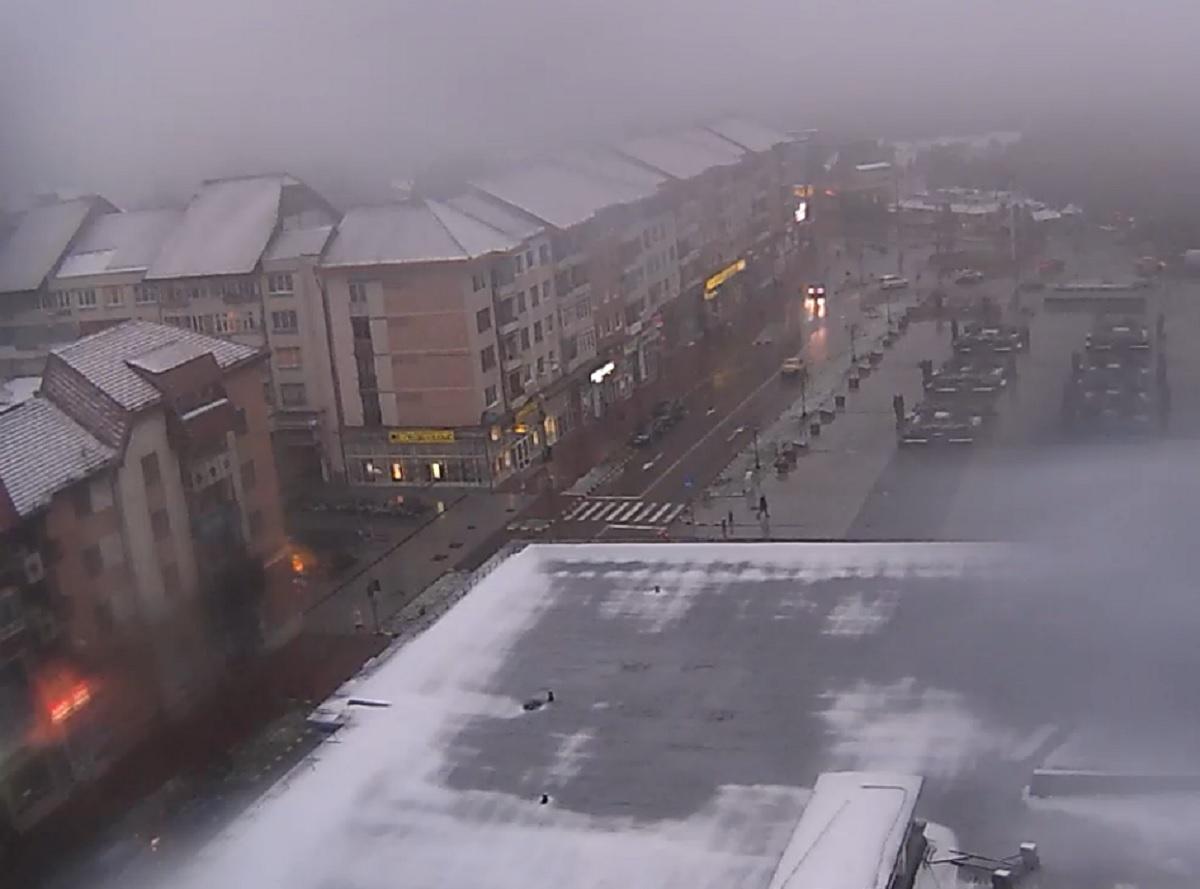 Primele imagini cu ninsorile din România. E cod galben în Suceava - FOTO şi VIDEO
