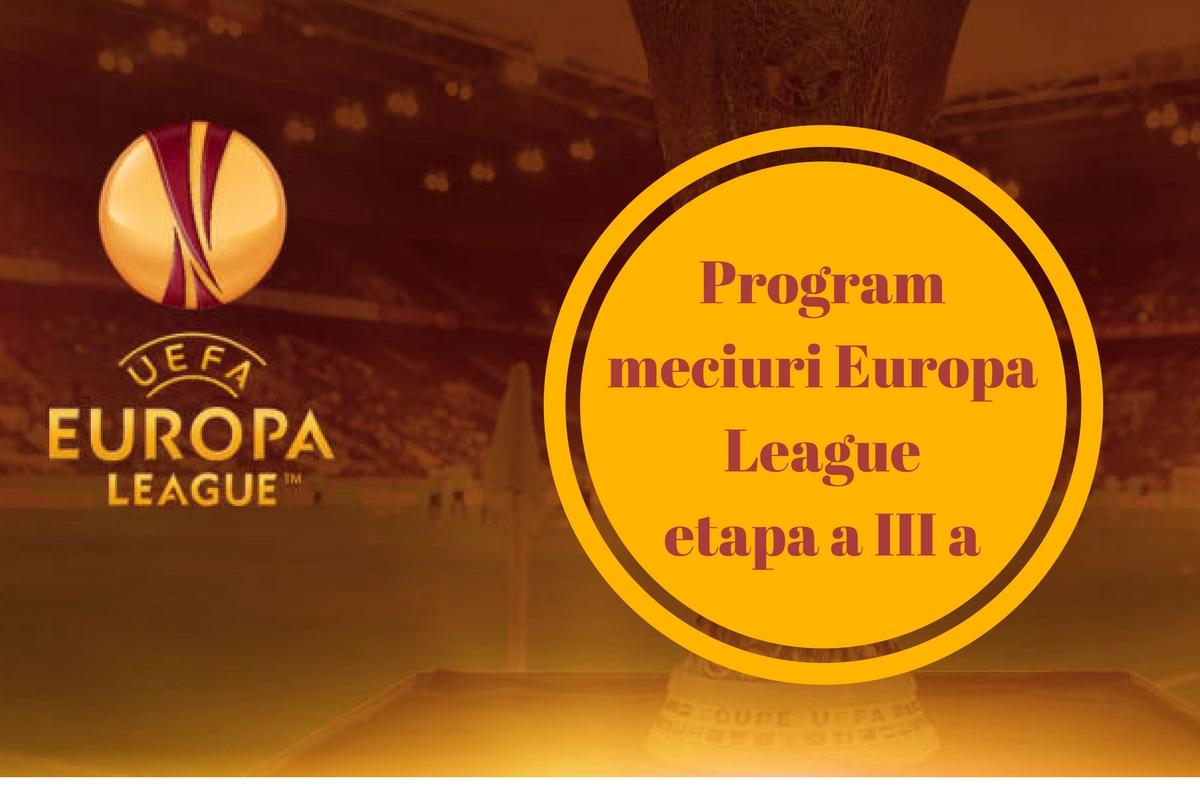 Program Europa League 20 octombrie. Meciurile de joi și orele de disputare ale partidelor. Cine transmite LIVE la TV Steaua și Astra.