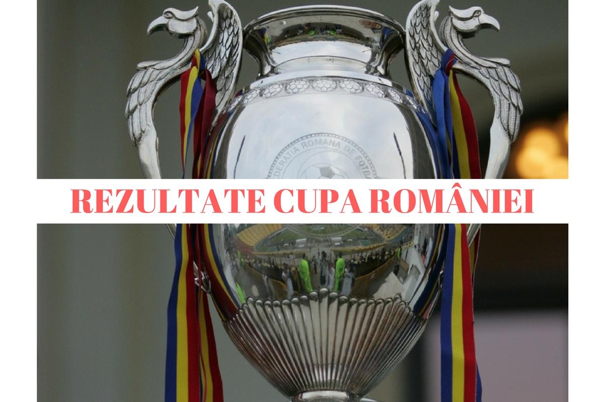 Rezultate Cupa României, 16-imi. Cine s-a calificat în optimile Cupei României, ediția 2016-2017. Scoruri și rezultatele complete.