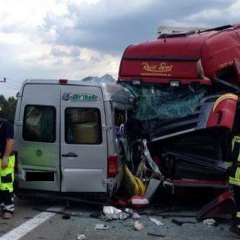 Accident în Bacău, în localitatea Nicolae Bălcescu. Un om a murit