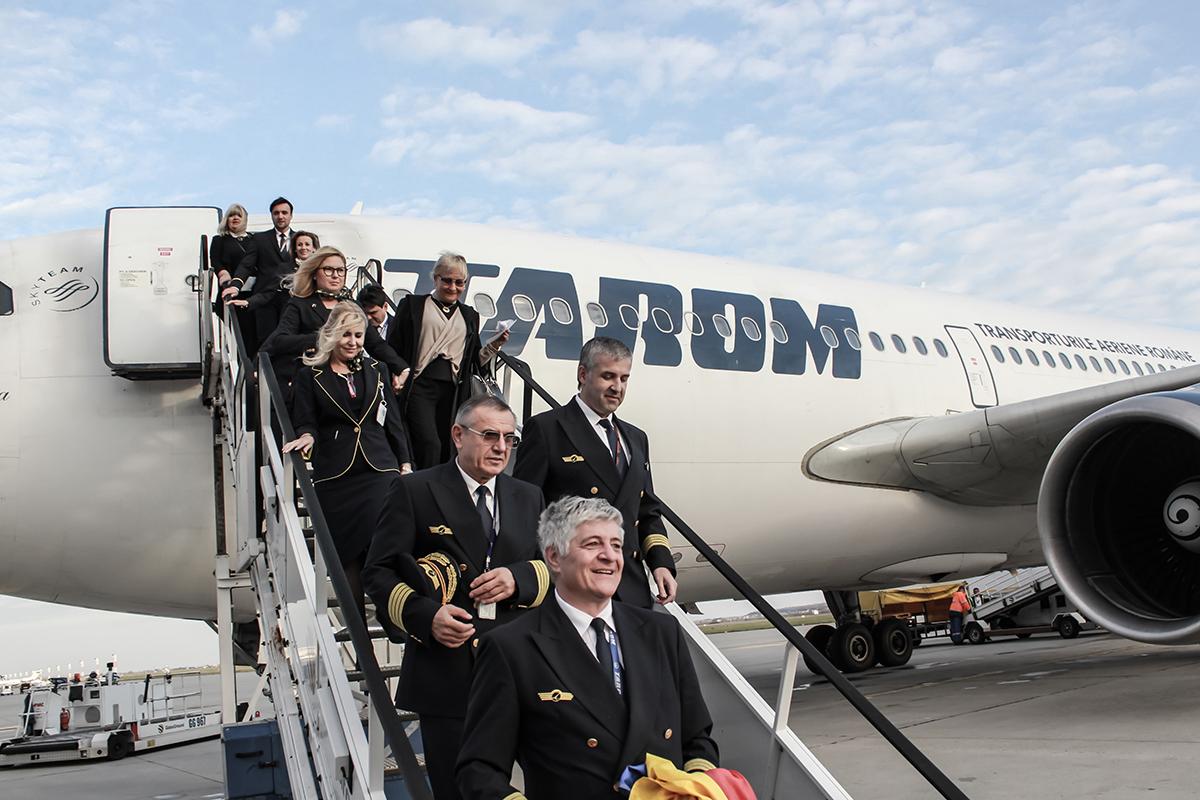 Tarom a retras din flotă avionul Airbus A310 YR-LCA, care opera zborurile spre Madrid