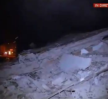 Cutremur în Italia: Doi răniţi şi clădiri surpate în urma seismului din Italia