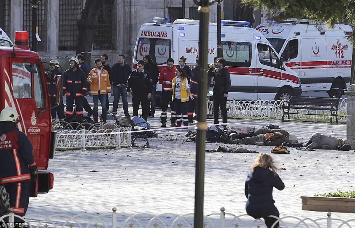 Polițiștii din Turcia au anunțat că l-ar fi arestat pe cel care a provocat explozia din Istanbul de joi, soldată cu rănirea a zece persoane.