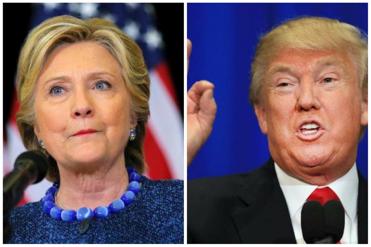 Hillary Clinton își menține avansul în sondaje în fața republicanului Donald Trump, cu o săptămână înainte de alegerile prezidențiale din SUA.