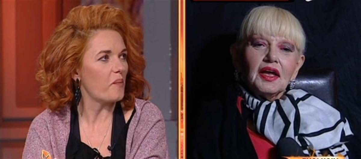 Israela Vodovoz și amanta lui Liviu Arteni, Simina, s-au confruntat în direct în cadrul unei emisiuni televizate. Israela a atacat-o din nou pe rivala sa.