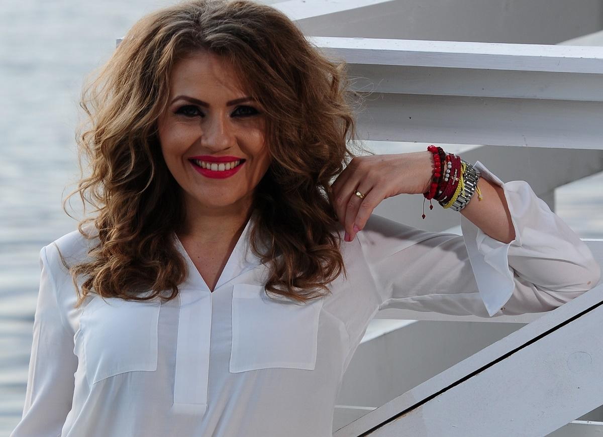 Mirela Boureanu Vaida și-a botezat, duminică, fiul, pe nume Vladimir Alexandru, în prezența a zeci de invitați.
