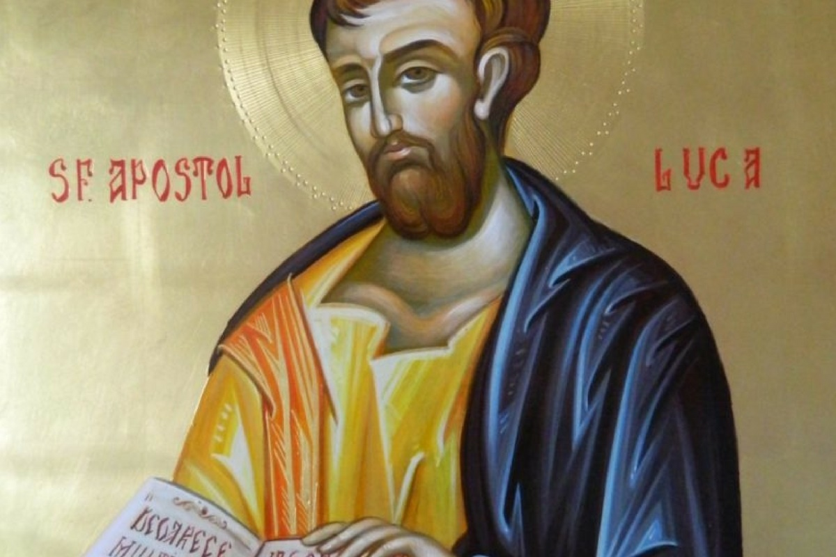 Ortodocșii îl prăznuiesc în data de 18 octombrie pe Sfântul Luca, apostol și evanghelist. Sărbătoarea este marcată cu cruce neagră în calendarul ortodox.