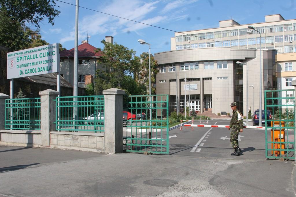 Echipajele de pirtoehniști ale Poliției au intrat în aleră după ce un apel la 112 a anunțat o bombă la Spitalul Militar din București.