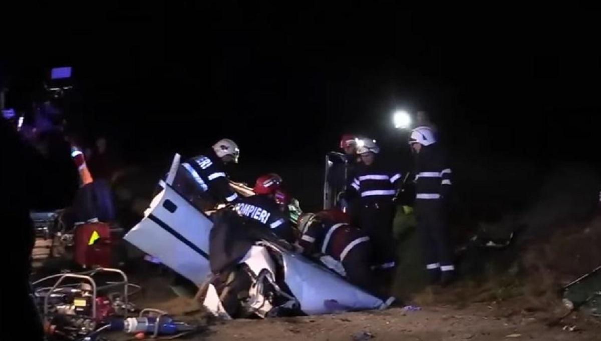 Accident în Cluj: O tânără de 28 de ani a murit și alte două persoane sunt în stare gravă