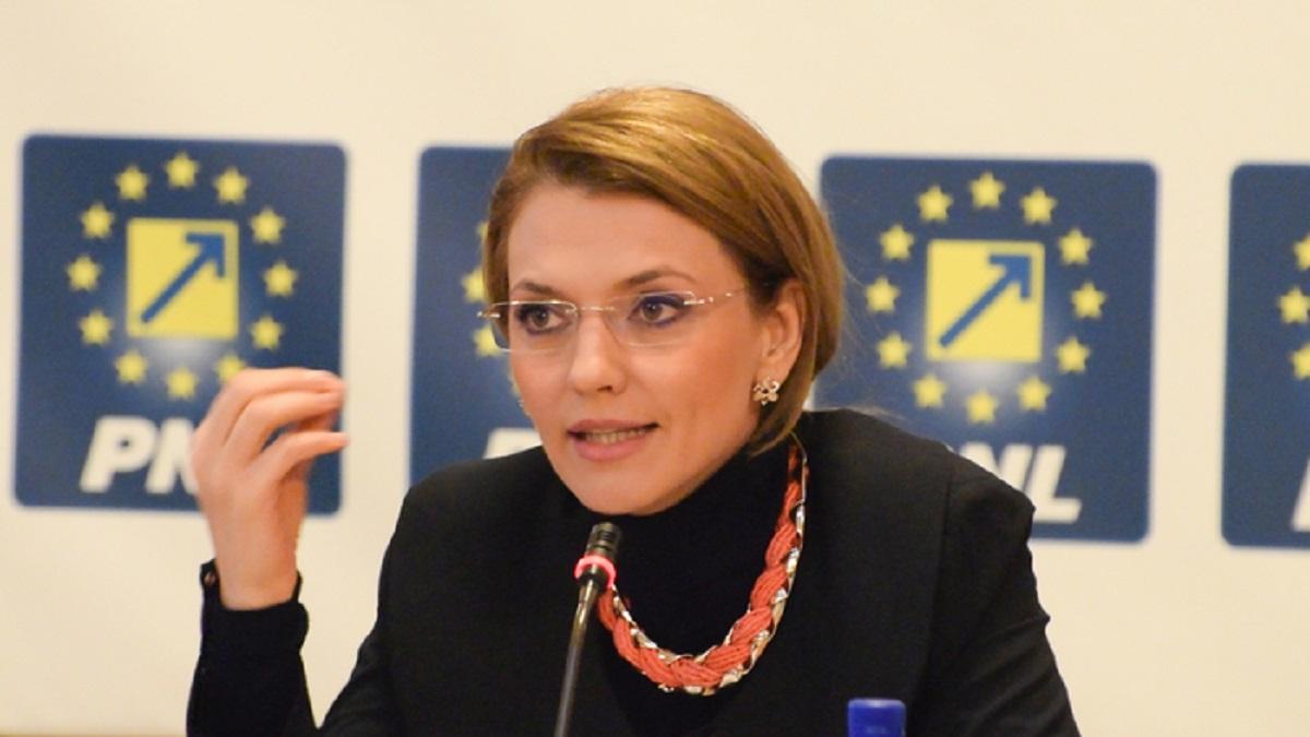 Alegeri parlamentare: Alina Gorghiu spune că singurul adversar al PNL este PSD
