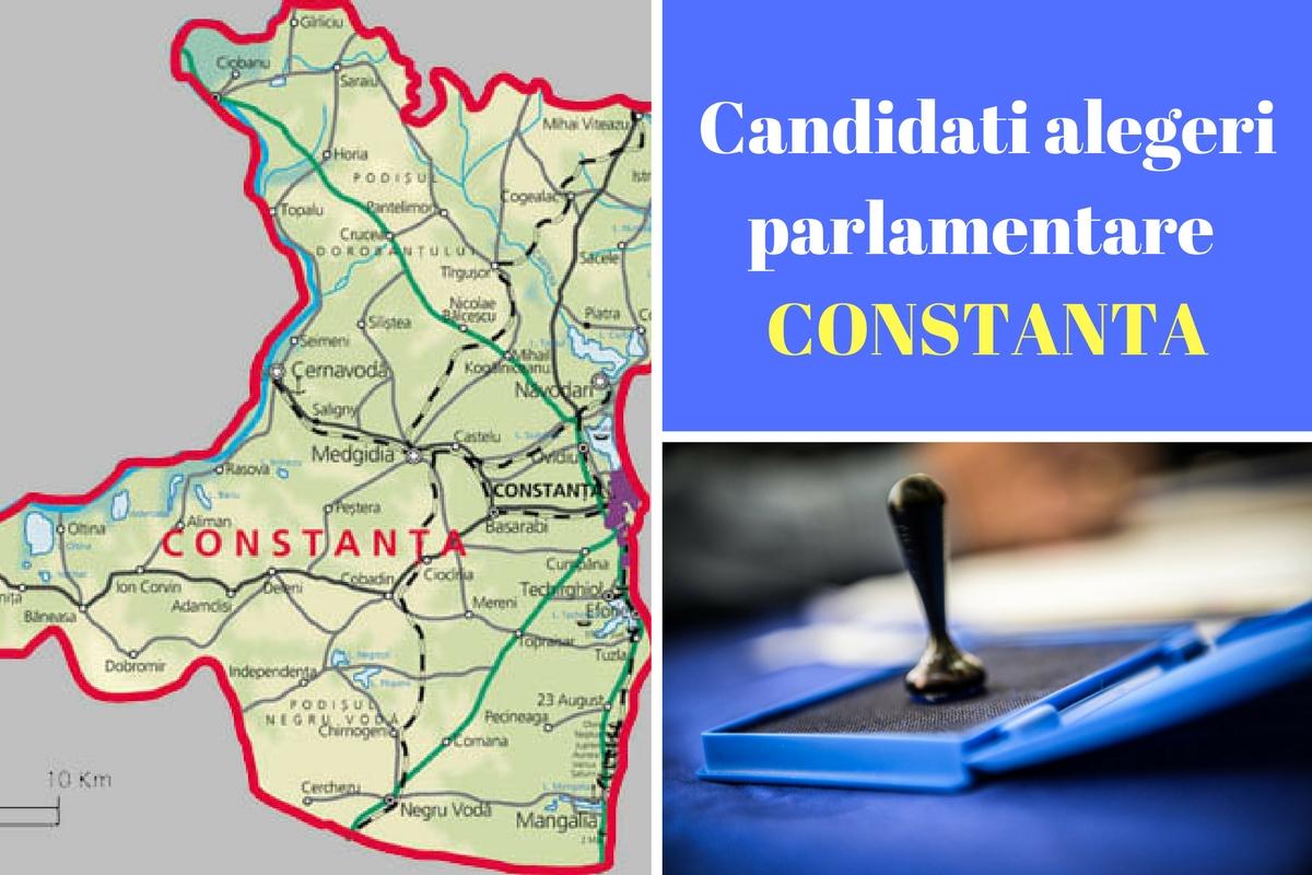 Candidați alegeri parlamentare 2016 Constanța. Listele de candidați ale tuturor partidelor pentru Camera deputaților și Senat în județul Constanța.