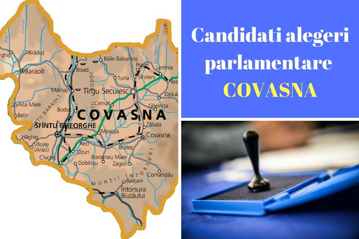 Candidați alegeri parlamentare 2016 Covasna. Listele de candidați ale partidelor pentru Camera deputaților și Senat în județul Covasna.