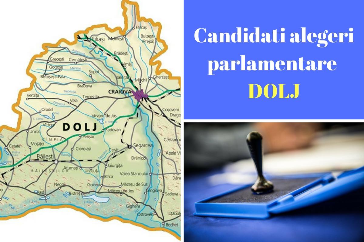 Candidați alegeri parlamentare 2016 Dolj. Listele de candidați ale partidelor pentru Camera deputaților și Senat în județul Dolj.