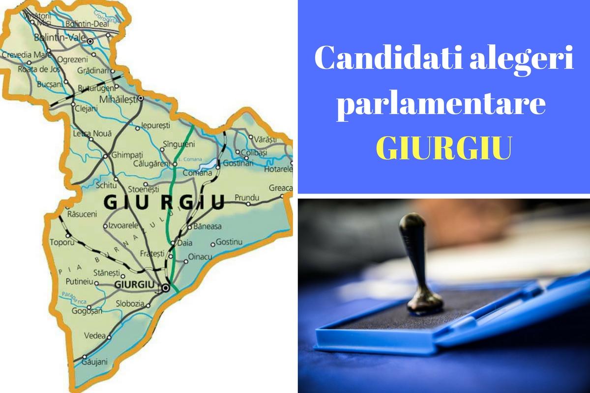 Candidați alegeri parlamentare 2016 Giurgiu. Listele de candidați ale partidelor pentru Camera deputaților și Senat în județul Giurgiu.