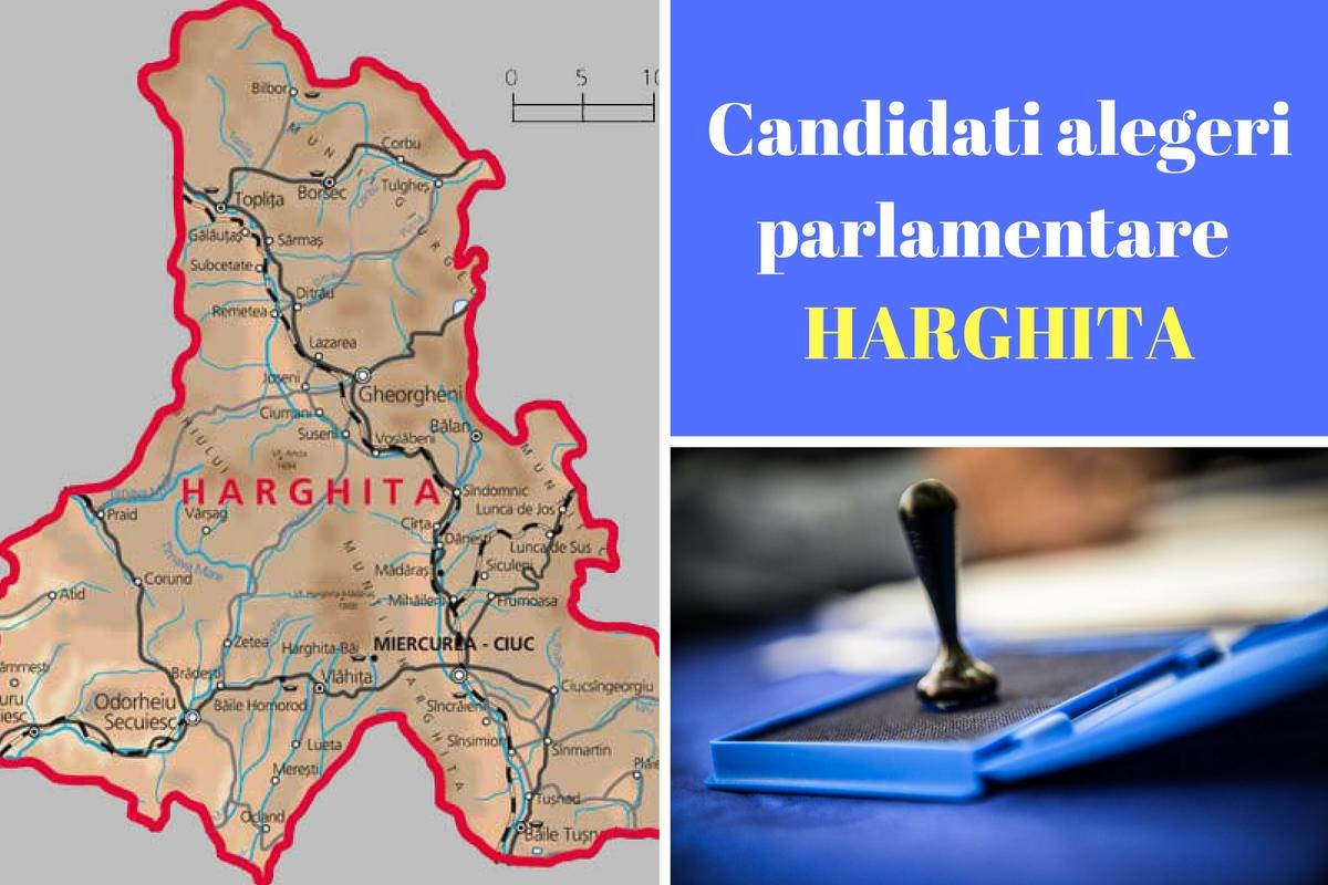 Candidați alegeri parlamentare 2016 Harghita. Listele de candidați ale partidelor pentru Camera deputaților și Senat în județul Harghita.