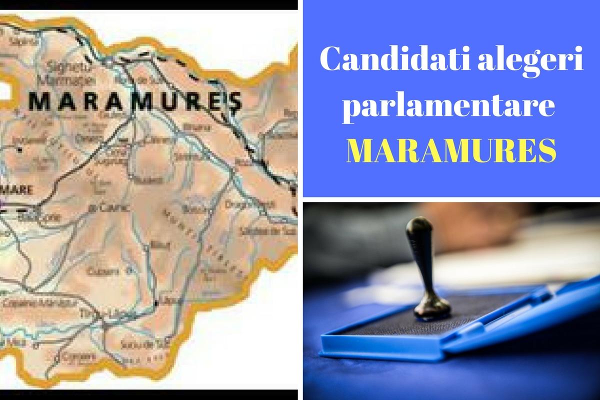 Candidați alegeri parlamentare 2016 Maramureș. Listele de candidați ale partidelor pentru Camera deputaților și Senat în județul Maramureș.
