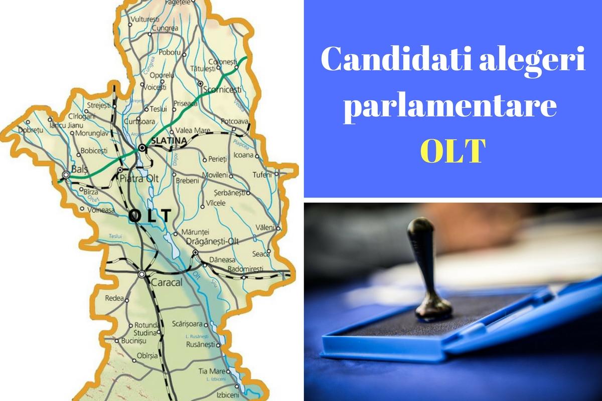 Candidați alegeri parlamentare 2016 Olt. Listele de candidați ale partidelor pentru Camera deputaților și Senat în județul Olt.