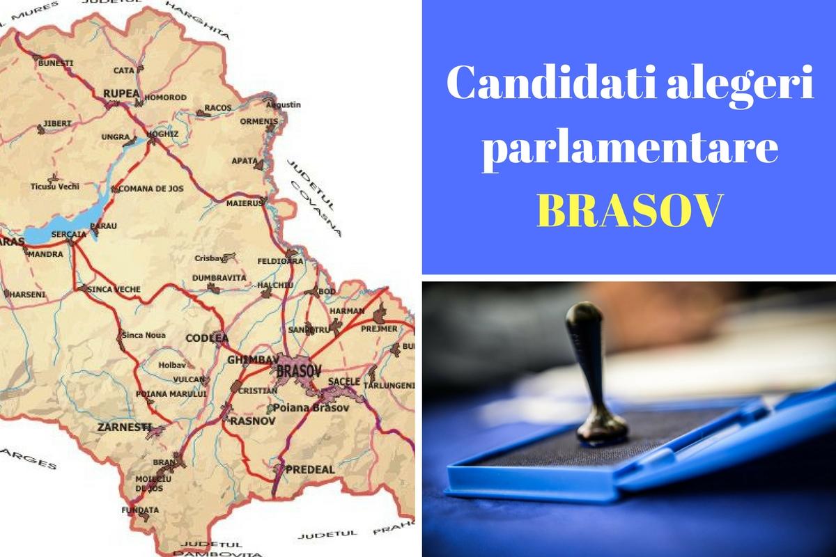 Candidați alegeri parlamentare 2016 Brașov. Listele de candidați ale tuturor partidelor pentru Camera deputaților și Senat în județul Brașov.