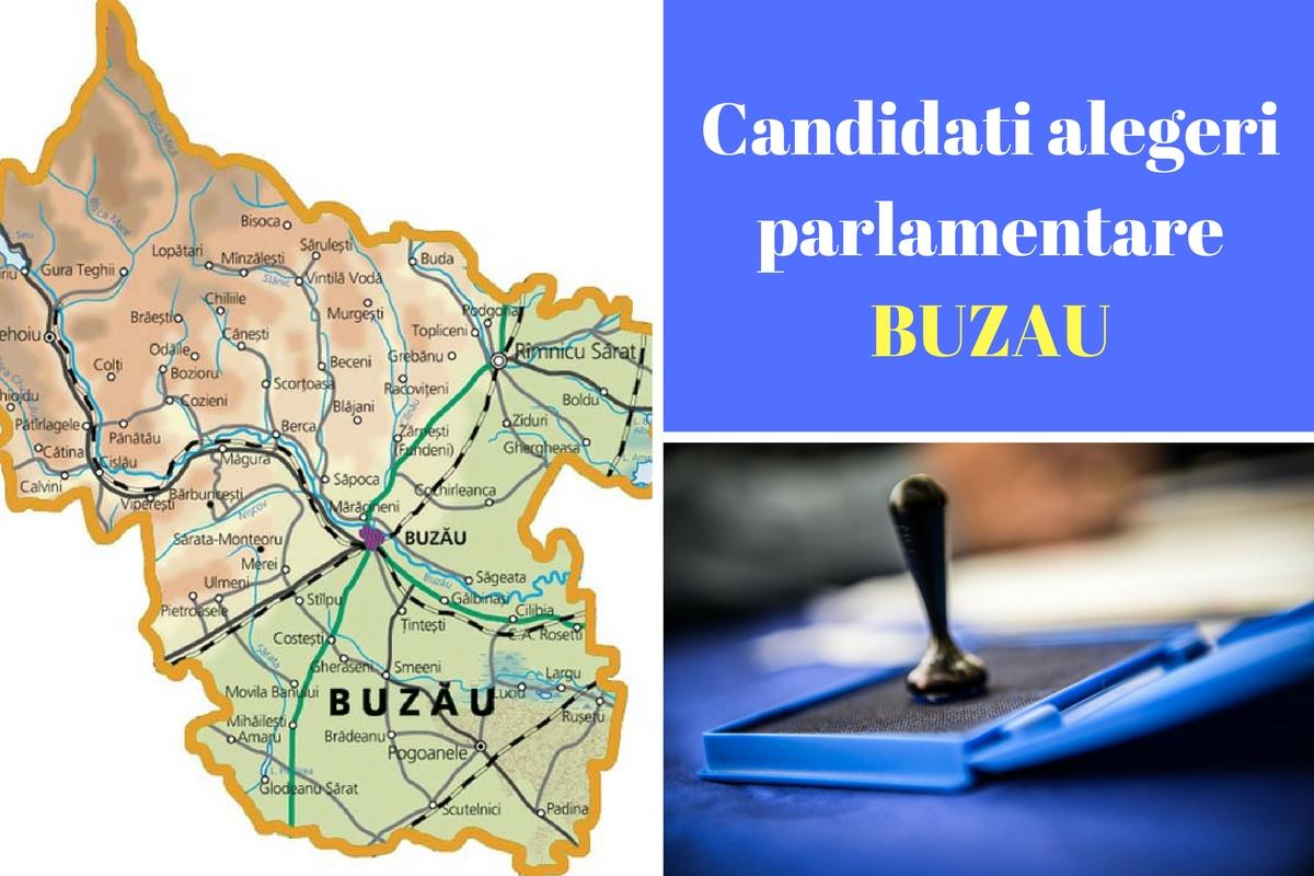 Candidați alegeri parlamentare 2016 Buzău. Listele de candidați ale tuturor partidelor pentru Camera deputaților și Senat în județul Buzău.