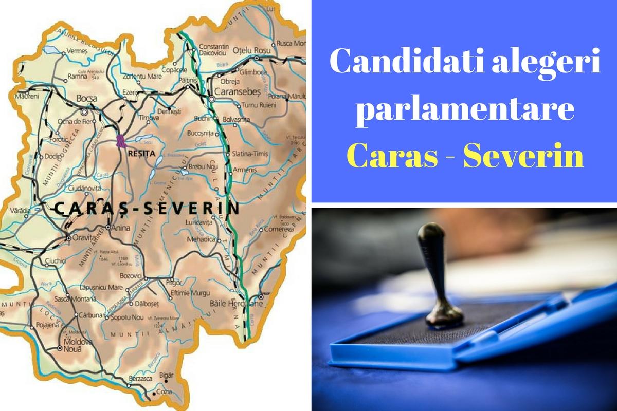 Candidați alegeri parlamentare 2016 Caraș-Severin. Listele de candidați ale partidelor pentru Camera Deputaților și Senat în județul Caraș - Severin.