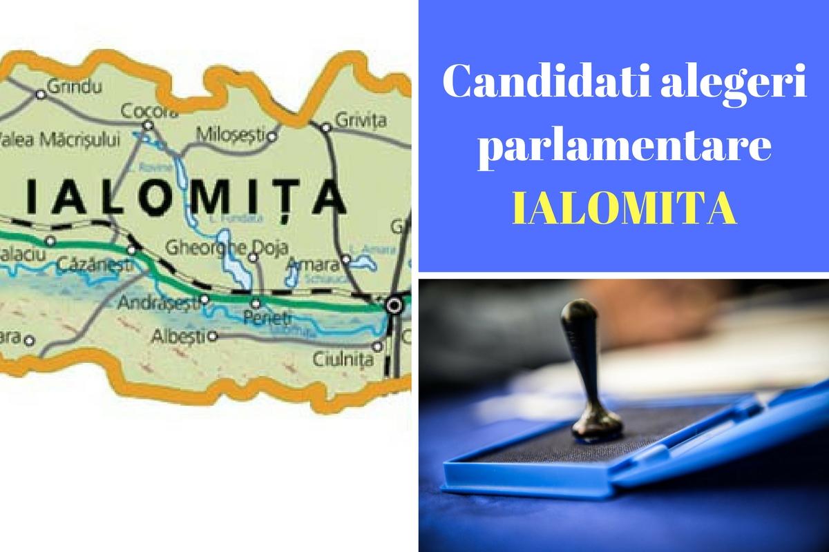Candidați alegeri parlamentare 2016 Ialomița. Cine candideză în județul Ialomița la Camera Deputaților și Senat. Candidații tuturor partidelor.
