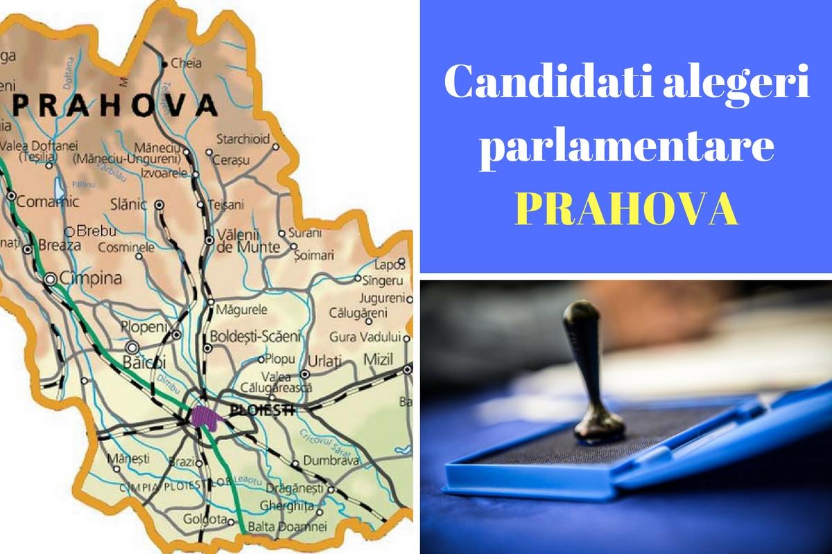 Candidați alegeri parlamentare 2016 Prahova. Listele de candidați ale partidelor pentru Camera deputaților și Senat în județul Prahova.